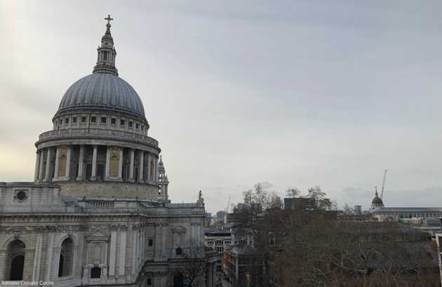 One New Change - vista da Saint Paul's Cathedral